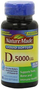 Nature Made Vitamin D-IU, 90 Softgels