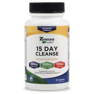15 Day Detox Cleanse Natural Gentle & Effective By Zenesis