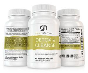 30-Day Detox & Cleanse Supplement by Gala Nutrition -