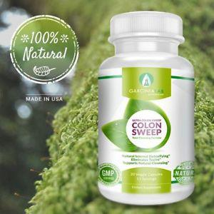 Colon Cleanse Detox & Weight Loss Supplement for Natural and