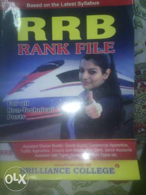 RRB rank file- very good in condition