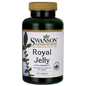 Swanson Royal Jelly Equivalent to  mg 100 Sgels