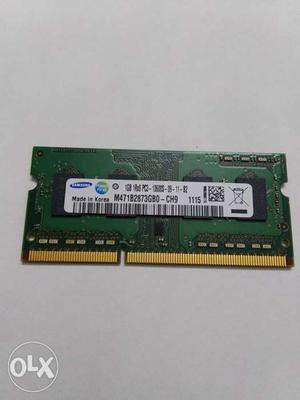 1GB ddr3 Samsung Laptop Ram. Mhz original
