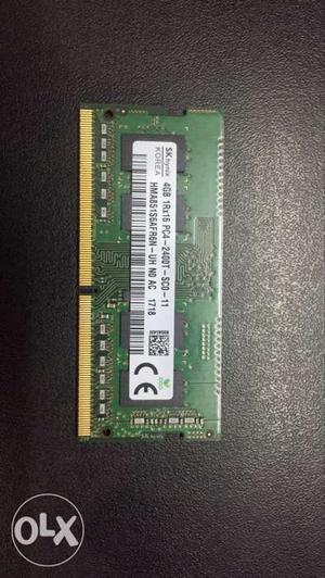 Brand new Hynix RAM 4 gb DDR Mhz SODIMM.