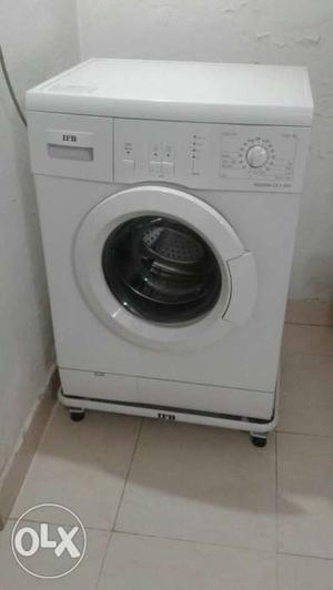 Ifb Senorita Dx White Front Load Washing Machine