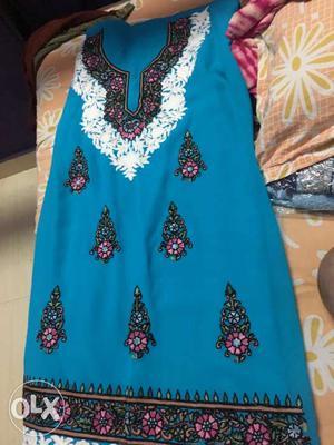 Kashmiri dress heavy embriodery orignal kashmiri