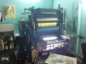Offset Printing + Paper Cutting Machine