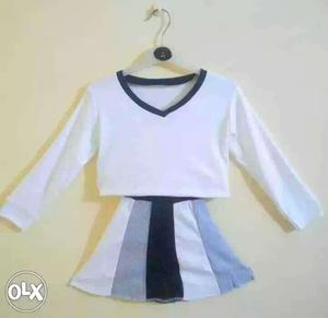 Skirt & top for 3 to 5 years babygirls
