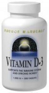 Vitamin D  IU Source Naturals, Inc. 100 Tabs