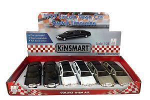ASC Toy Car – Kinsmart Die-Cast Limosene – Color Withe,