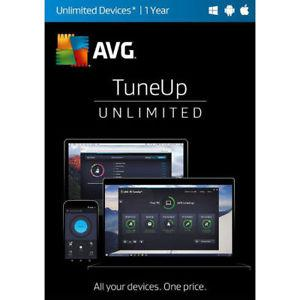 AVG PC Tune Up Unlimited Devices yr