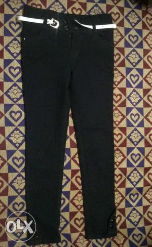 Black new jeans for girls size 26 genuine buyers