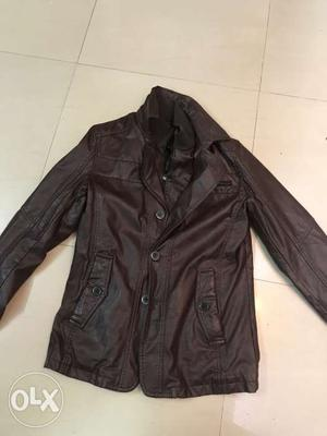 Brand new leather jacket not at all used brought