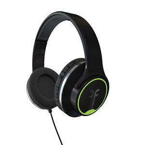 Flips Audio FHBK Collapsible HD Headphones and Stereo