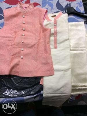 Man's Kurta koti payjama: MANYAWAR Brand