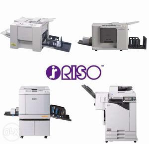 Riso Digital Duplicator Printing press Machine Copy printer