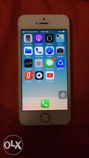 IPhone 5s 32GB for sale, it's one year old no