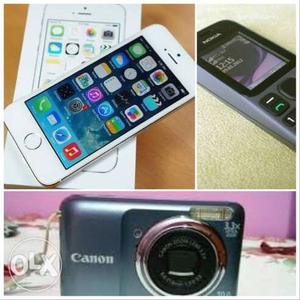 Iphone came as gift and canon camera nokia dual
