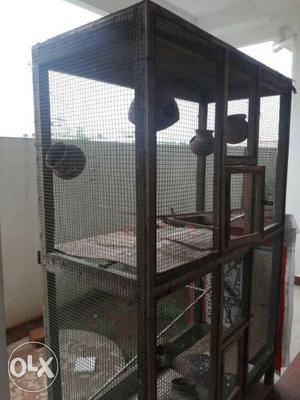 Is a very big cage and fixed prize if u want call me
