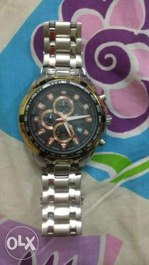 1 or 2 times used brand edifice casio