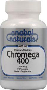 Anabol Naturals Chromium Picolinate Mega 400 mcg 90 Caps