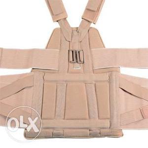 Complete back n shoulder support. Very good for a