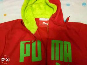 Red Puma Fullzip Jacket