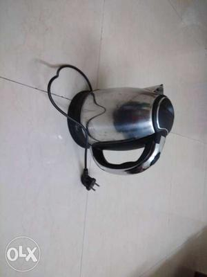 Electric heater 1.8 litres stainless steel