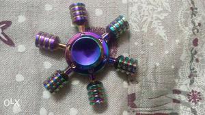 Fidget Spinner made up of heavy duty metal.