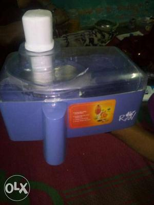 Fruit juice machine new good condition for seel
