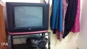 LG coloured TV Flat