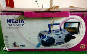 Media 5 in one CD VCD Mp3Tape recorder Radio