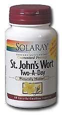Solaray - St John's Wort Two-A-Day, 900 mg, 60 capsules