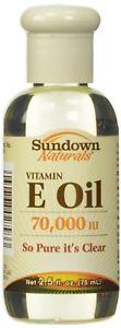 Sundown Vitamin E Oil  IU, 2.5 fl oz