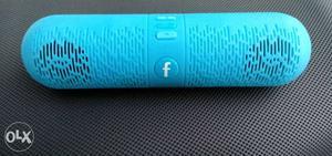Unused Bluetooth speaker with f.m & pendrive