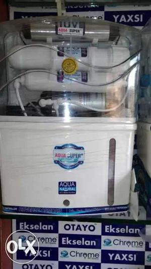 White And Blue Aqua Super Water Purifier