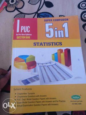 5 In 1 Statistics Book