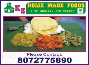 Daily home food lunch pure veg with good quality