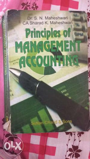 Principles Of Management Accounting Book