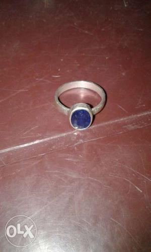 Blue Gem Fragment Embellished Ring
