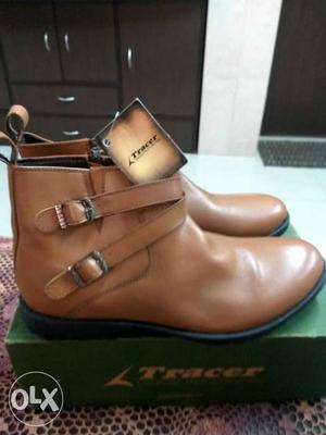 Brand New Tracer Leather Boots For Men's. Size UK