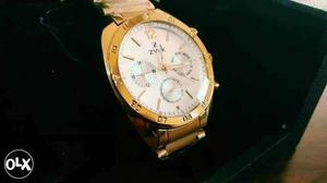 Brand New sealed Gold Plated Watch