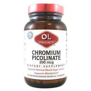 Olympian Labs Super Chromium Picolinate - 200 mcg - 100