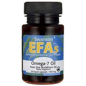 Swanson Omega-7 Oil From Sea Buckthorn Oil 450 mg 30 Liq