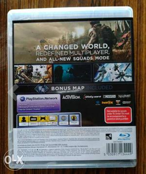 The latest call of duty for ps3 seal pack cd and
