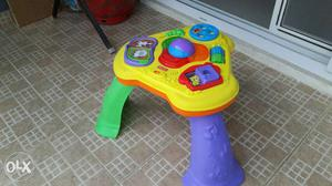 Fisher price stand play. Good for kids betwee. 6