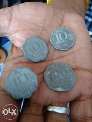 I have few old coins of India