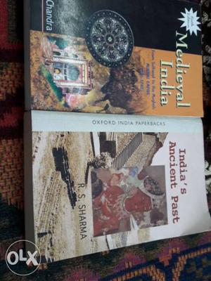 I have two books of medieval india and ancient