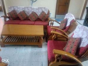 Made and Imported by Myanmar; 5- Seater Sofa