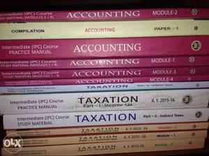 New and Unused Chartered Accountant study